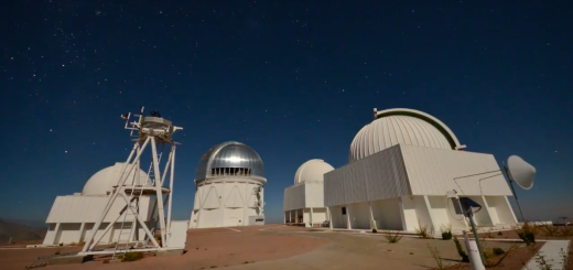 Telescopes in SAAO, Southern Africa