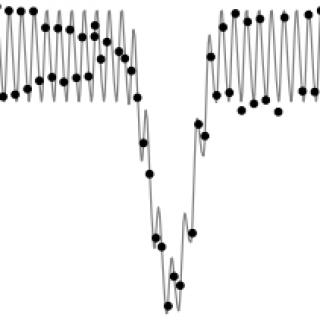 Outreach image, light curve
