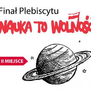 Logo Finał Plebiscytu Nauka to Wolność