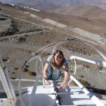 Paulina at La Silla observatory, Chile
