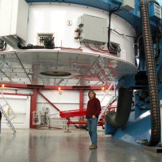 Zibi under Magellan, LCO 2007